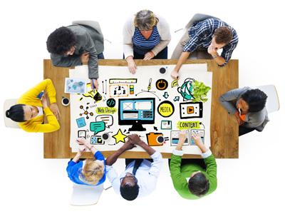 Consultoria em criação de websites e planejamento de presença online